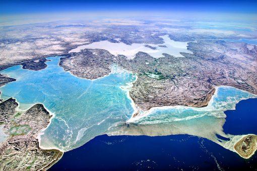 GEO ART - artic ocean canada