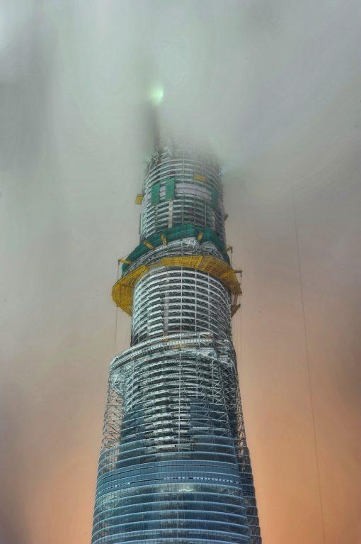 Shanghai Tower under construction