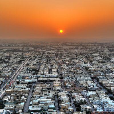 Riyadh sunset